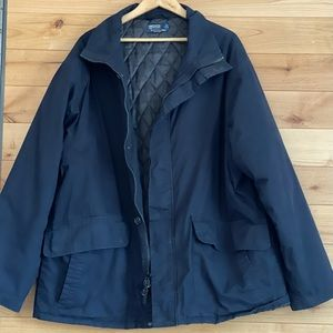 Polo by Ralph Lauren Cotton dark blue lined jacket